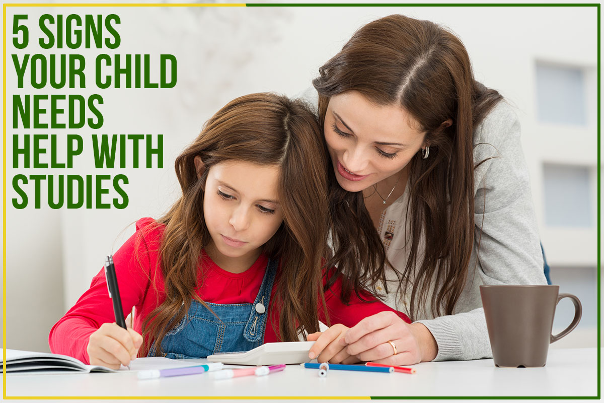5 Signs Your Child Needs Help With Studies